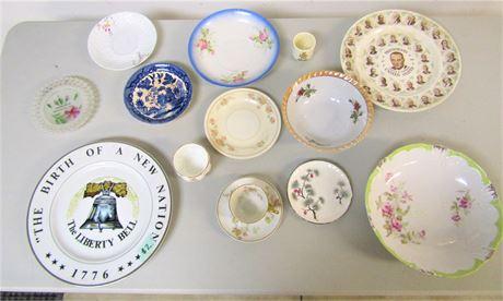 Collectible China Plates and Bowls
