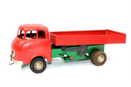 Vintage CKO Pressed Steel Mercedes Dump Truck