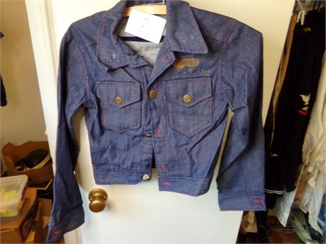 Vintage Jacket with Ford Patch