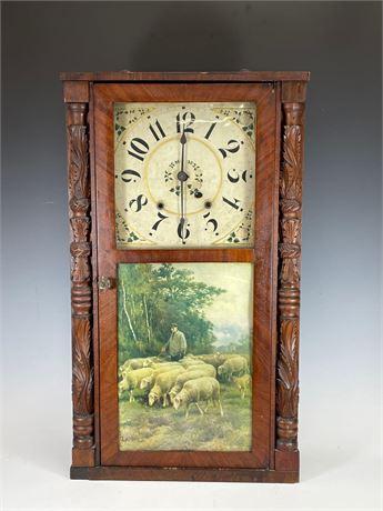 19th Century Riley Whitting Shelf Clock