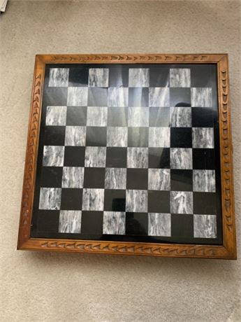 MOTHER OF PEARL CHESS SET