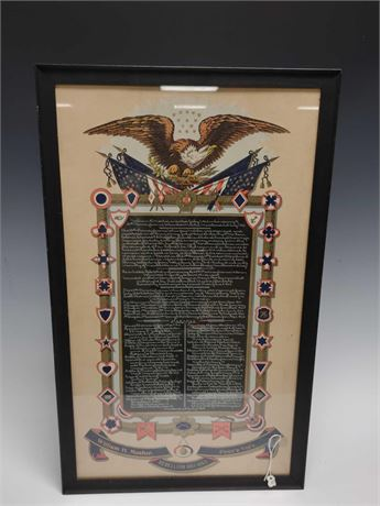 Civil War Service Records Penn'a Vol's William Mosher