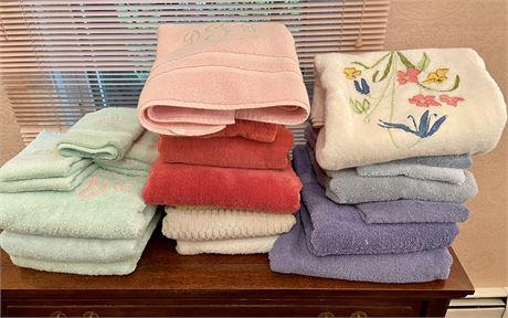 Bathroom Towel Lot