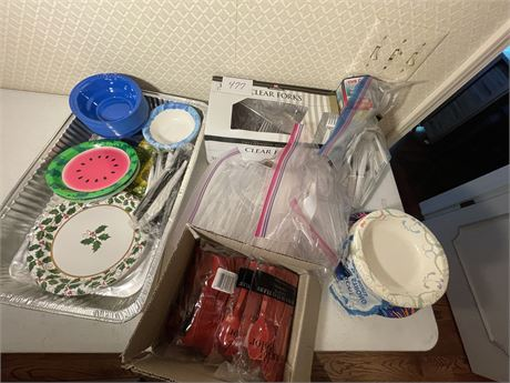 Closet Drawer Clean Out Lot #1 - Party-ware Galore