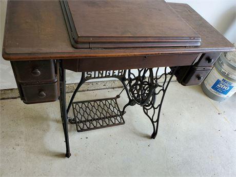 Antique Singer 127 Treadle Sewing Machine