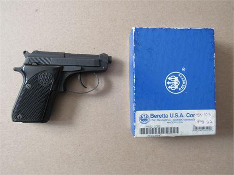 Berretta Model 21A Pistol 22LR or 25 Auto w/Original Box & Instructions