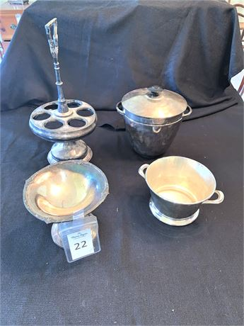 Vintage Silver-plated Serving Pieces