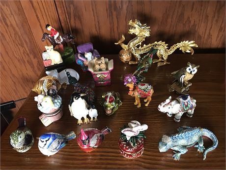 Animal Themed Ring Boxes (20)