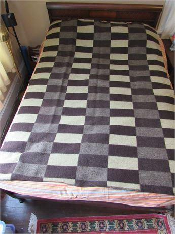 Vintage Angora Rabbit Fur Blanket or Throw