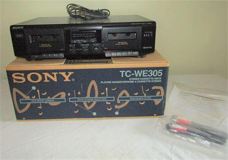 Sony Stereo Cassette Deck