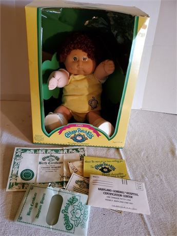 Vintage Cabbage Patch Doll Cassidy Seymore