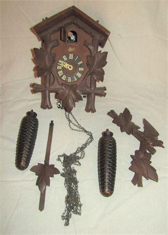 Scahtz 8-Day Cuckoo Clock