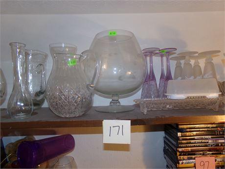 Closet cleanout shelf