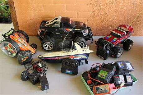 Remote Control Cars and Boat