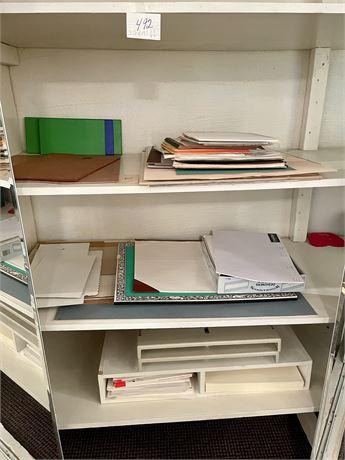 Artist's Dream Closet Shelves Clean Out Lot
