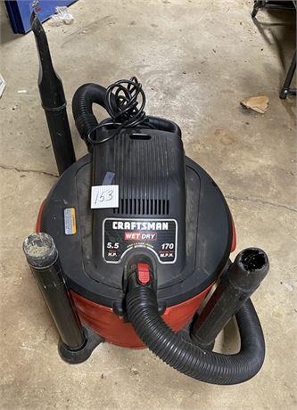 Craftsman 5.5 peak HP 170 mph Blowing Port Wet/Dry Vac & Blower