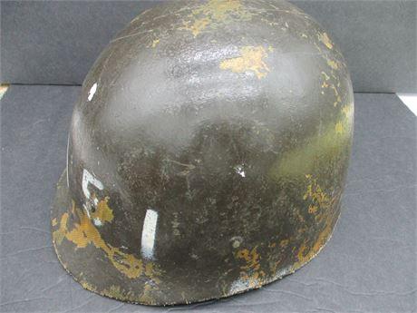 Vintage Genuine US Military Army 1970's Authentic Marked Helmet