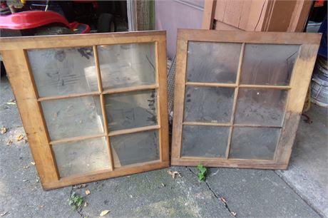 Pair of windows