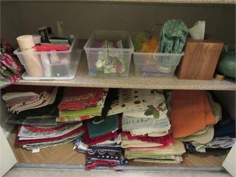 Linen Closet Clean Out: Bottom Shelf and Floor