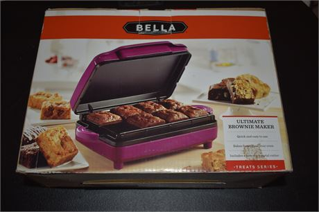 Ultimate Brownie Maker in box-Tested-Works
