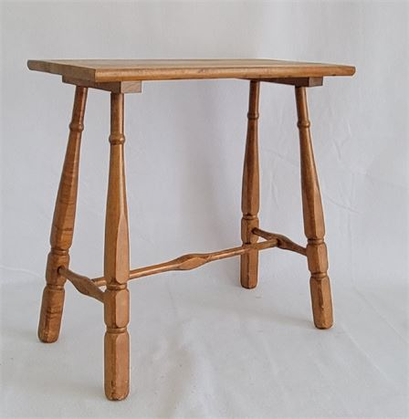 Tall Narrow Wooden Table