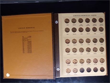 Lincoln Memorial pennies