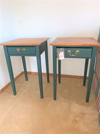 Pair of Matching Side Tables