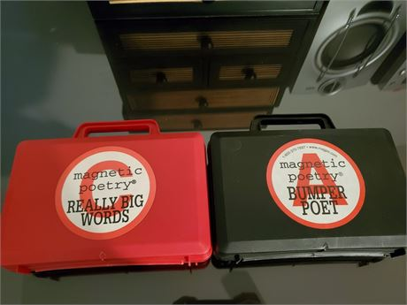 Really Neat Magnetic Poetry Sets