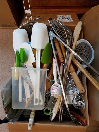 Big Box of Kitchen Utensils