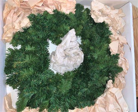 Artificial Evergreen Wreath