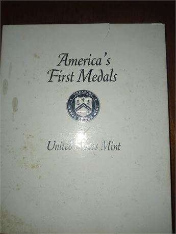 Americas First medals