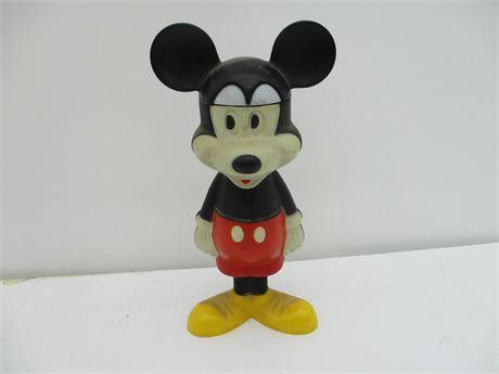 Antique 1970's AVON Mickey Mouse 4.5  Ounce Bubble Bath Bottle