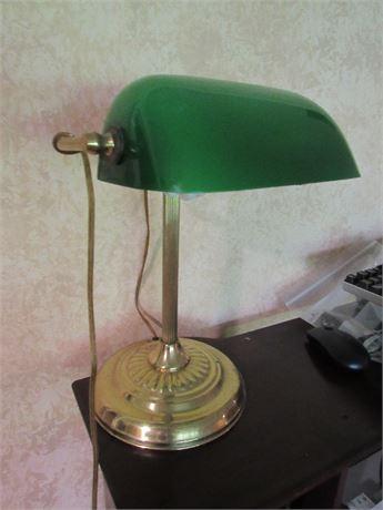 Banker's Table Lamp