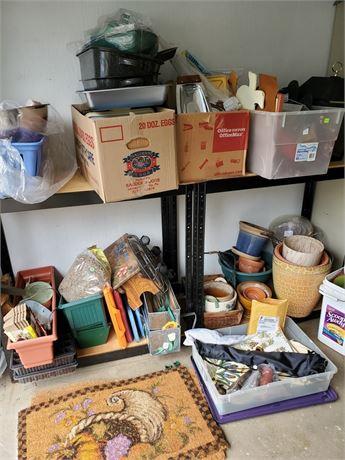 Garage Shelf Buyout, Shelves Included