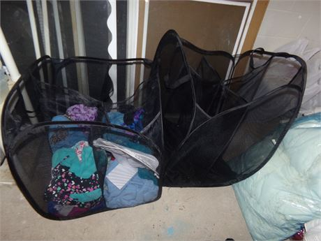 Clothing and laundry organizers