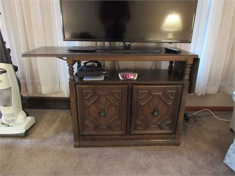 Wood Side Buffet: currently used as a TV Stand