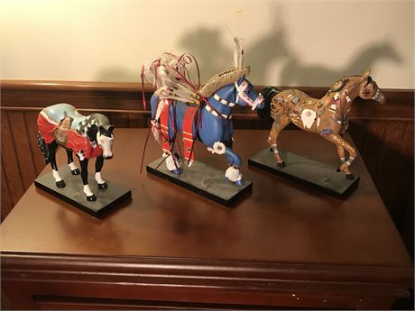 The Trail of Painted Ponies Figurines (3)