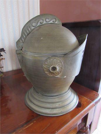 Metal Armor Ice Bucket Helmet