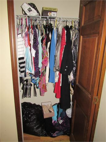 Closet Clothing Clean Out Lot: L XL