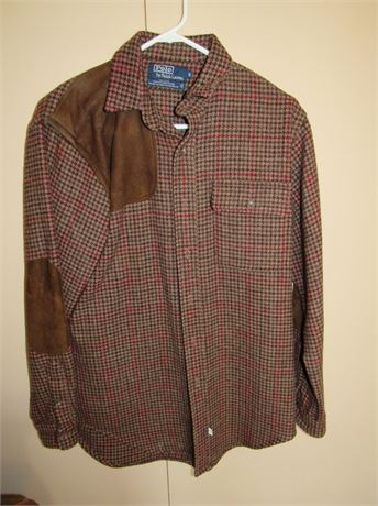 Polo Hunting Shirt by Ralph Lauren, Vintage. Wool. Rare