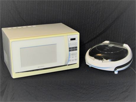 Microwave Oven & Counter top Grill