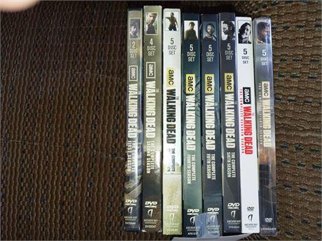 The Walking Dead DVDs