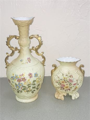Two Pieces of Royal Rudolstadt Fine Porcelain
