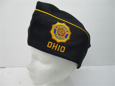 Vintage American Legion Post 281 Life member Blue  Cap Ohio