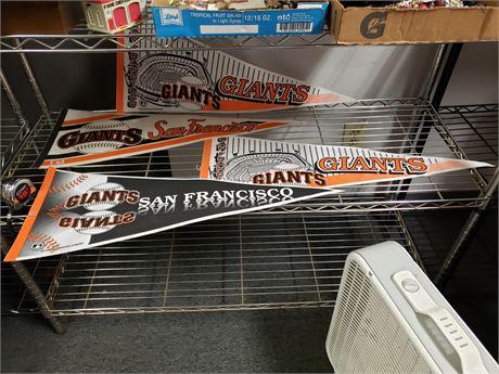 San Francisco Giants Pennants