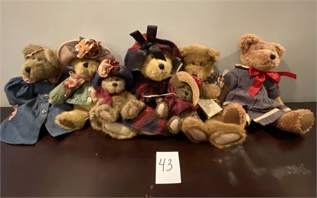 """Collectible Boyds Bears from the """"Investment Collection"""""""