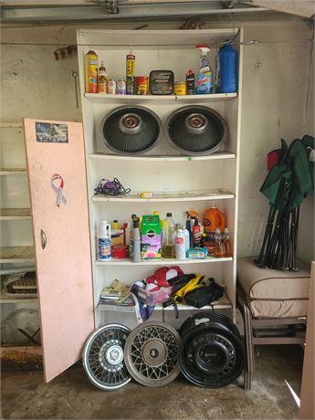 Shelf Cleanout: Chemicals / Paints / Rims / Hubcaps & More