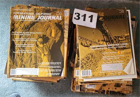1995 Mining Journal Magazines