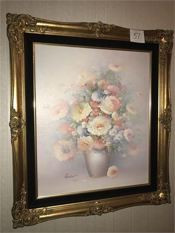 Original Oil on Canvas Still Life signed Russo