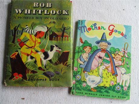 Vintage Rare Bob Whitlock Ohio Pioneer Boy & Sandpiper Books